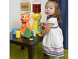 Кулер детский/ Диспенсер для воды Утка 2,5 л Красный с салатовым, фото 4