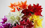 Букет роза лілії, азіатська лілія 60 див. (10 шт. в уп), фото 2