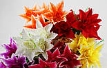 Букет роза в лилии, азиатская лилия 60 см. (10 шт. в уп), фото 2