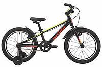"Детский велосипед Pride Rowdy 18"" черно-желтый"