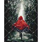 """Картина по номерам Люди """"Красная шапочка"""", в термопакете 40*50см"""