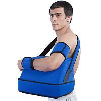 Косыночный бандаж для плечевого сустава с отводящей подушкой РП-6У-45° (XXL) Реабилитимед