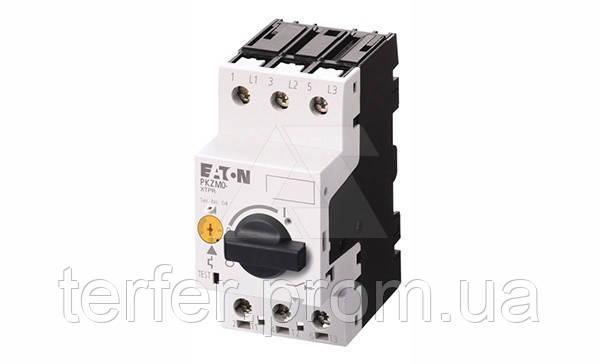 Автоматический выключатель защиты электродвигателя PKZM0-0,6,3