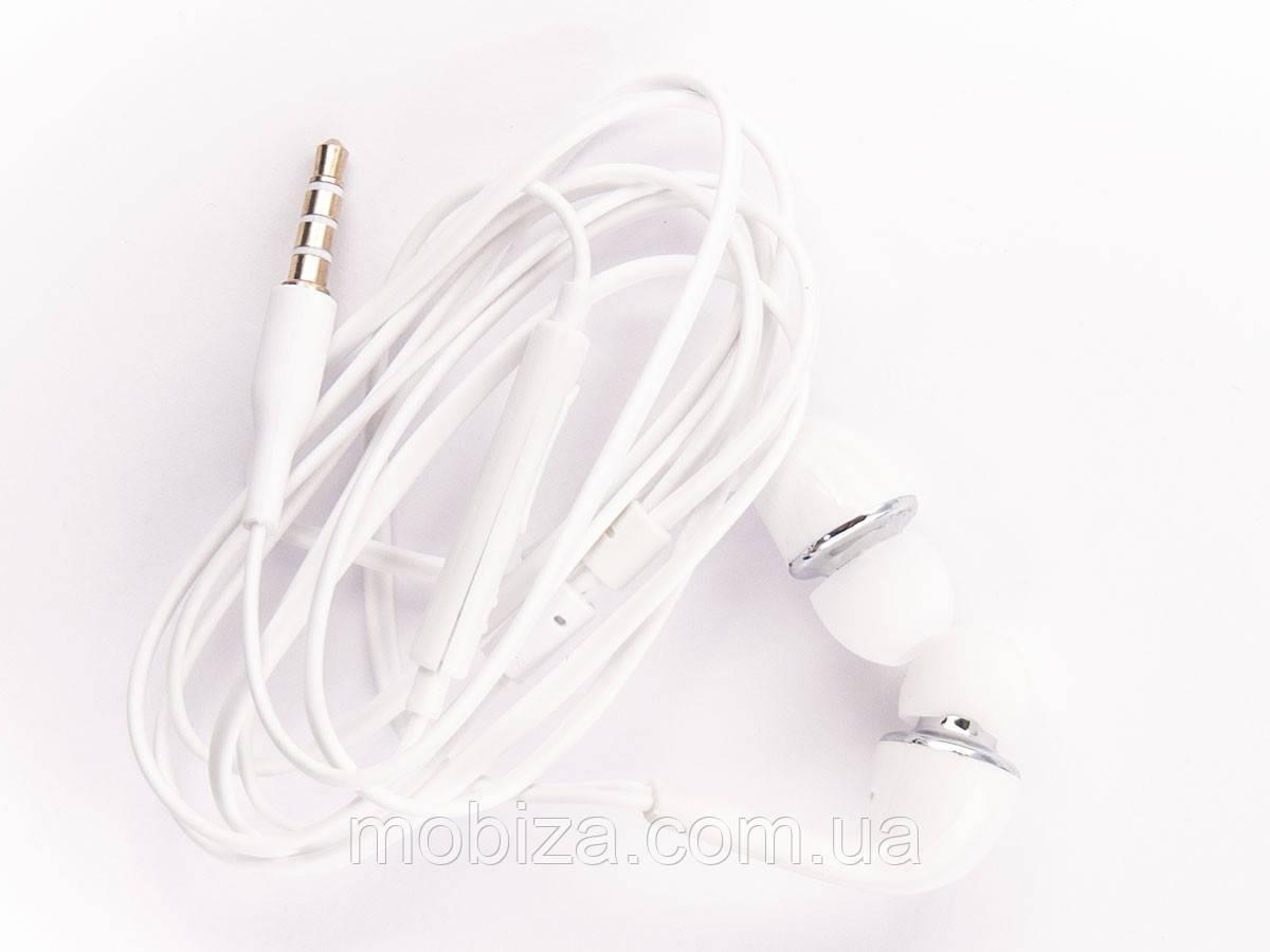 Наушники (проводная гарнитура) для мобильного телефона Samsung (white)