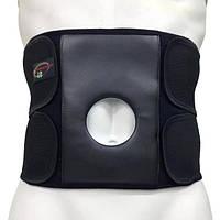 Бандаж для спины и мышц брюшной стенки с отверстием под стому «Стронг» С-3С (S-XL) Реабилитимед