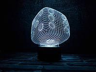 """Сменная пластина для 3D светильников """"Кубик"""" 3DTOYSLAMP"""