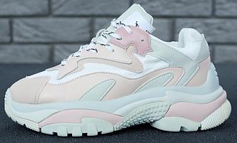 Женские кроссовки Ash Addict Sneakers White/Blush