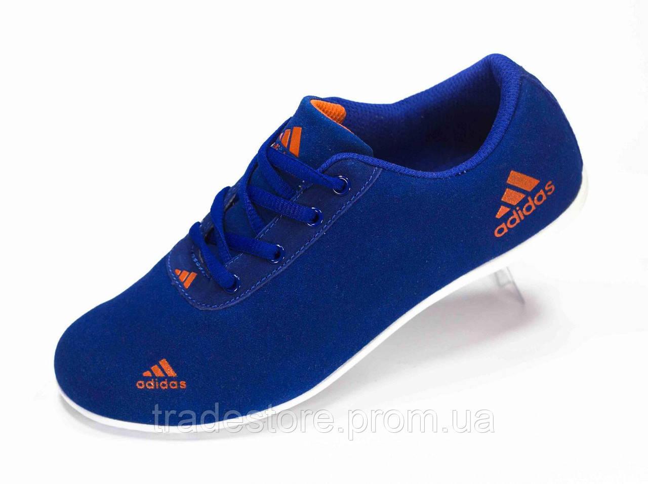 Кроссовки женские  Adidas  синие
