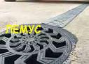 Комплект: Дождеприемник-пескоуловитель круглый пластиковый с пластиковой решеткой, фото 6