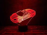 """3d светильник на подарок """"Автомобиль 3"""" 3DTOYSLAMP"""