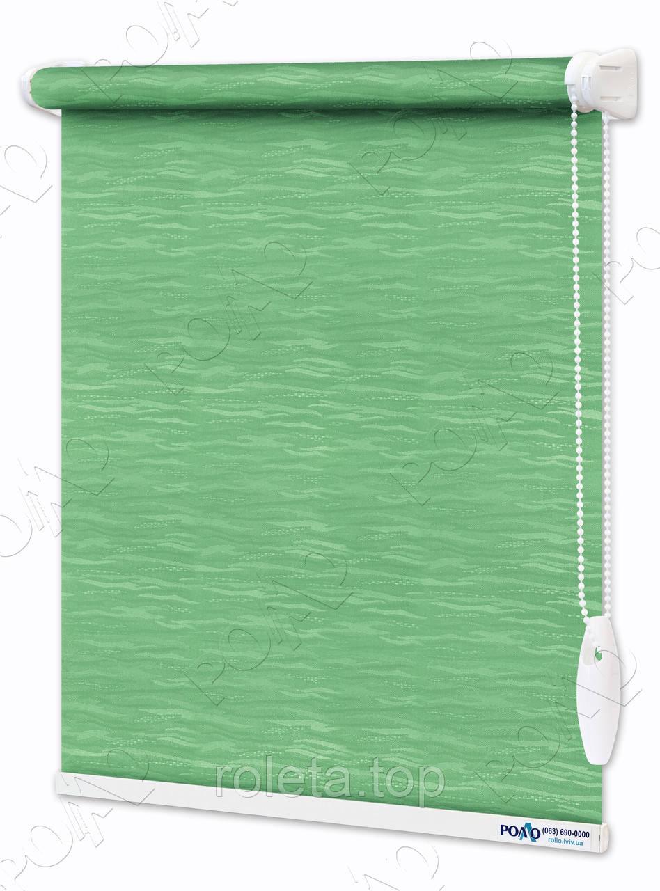 Ролети Тканинні Лазур Зелені