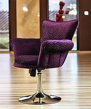 Обертове крісло дизайнерське м'яке - SAN DIEGO, фото 2
