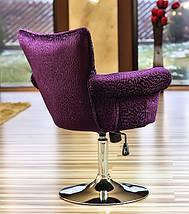 Обертове крісло дизайнерське м'яке - SAN DIEGO, фото 3