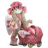 Набор для шитья каркасной интерьерной куклы Ангелок Kukla Nova К1023