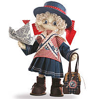 "Набор для шитья каркасной интерьерной куклы ""Бэкки"""