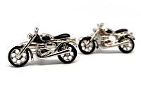 """Запонки """"Ретро мотоцикл"""""""