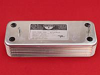 Теплообменник скоростной Baxi Westen Zilmet 16 пластин, фото 1
