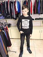 Кофта, батник, свитшот трикотаж для мальчиков  10-13 лет