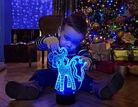 """Ночник - светильник детский """"My Little Pony"""" 3DTOYSLAMP, фото 1"""