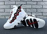 """Мужские кроссовки Nike Air More Money 'White & Black"""". Живое фото (Реплика ААА+), фото 7"""