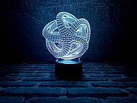 """Детский ночник - светильник """"Звезда"""" 3DTOYSLAMP"""