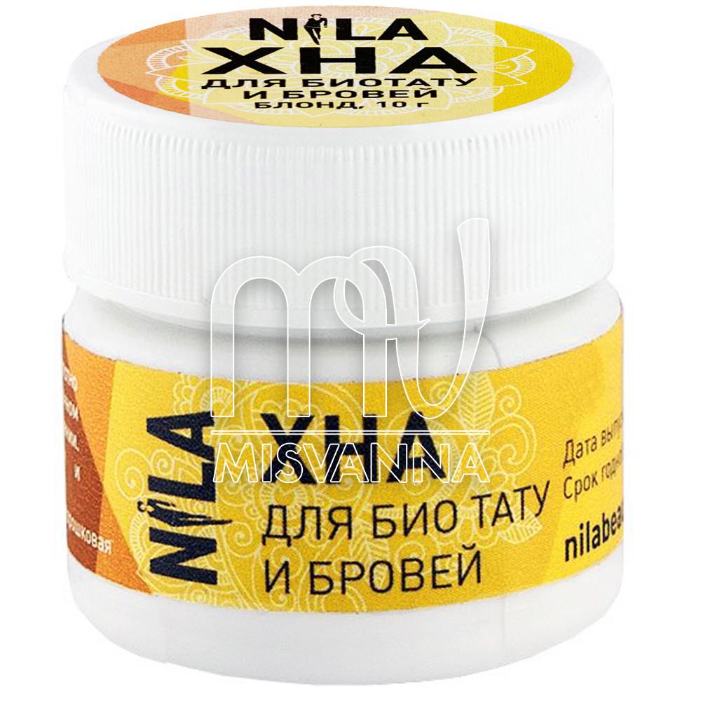 Хна для бровей и био тату NILA (Блонд) 10 гр