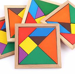 Танграм  Головоломка Дерево, Tangram Game toys
