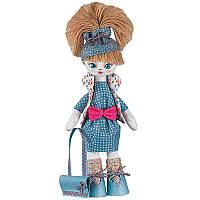 """Набiр для шиття ляльки  на льняній основі """"Розумниця"""""""