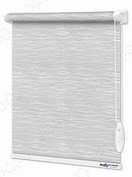 Рулонные шторы Лазурь Белые