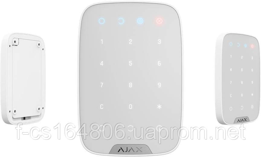 Ajax KeyPad Original – Беспроводная клавиатура  (Black)