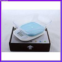 Электронные кухонные весы до 7кг с чашей MS 125