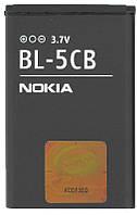 Батарея (акб, аккумулятор) BL-5CB для телефонов Nokia, 850 mAh, оригинал