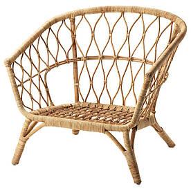 IKEA STOCKHOLM 2017 (503.450.66) Крісло, ротанга