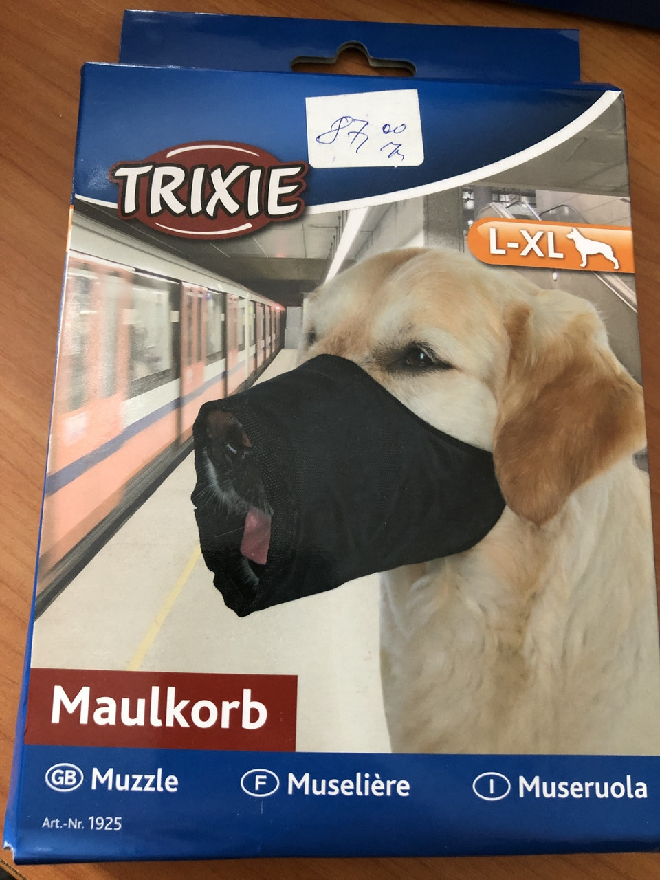 TRIXIE Намордник для собак l-XL