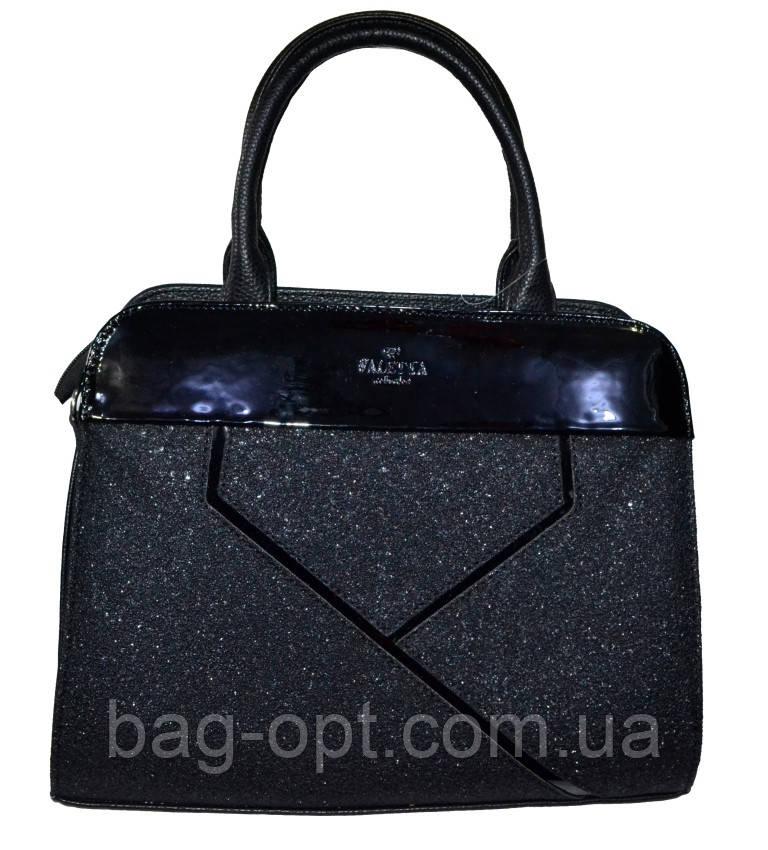 Женская черная сумка (26*33*15)