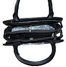 Женская черная сумка (26*33*15) , фото 4