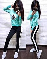 Костюм спортивный турецкая двухнитка, в расцветках, фото 1