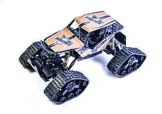 Машинка-Вездеход 2 в 1 (гусеницы+колеса) на радиоуправлении 4WD