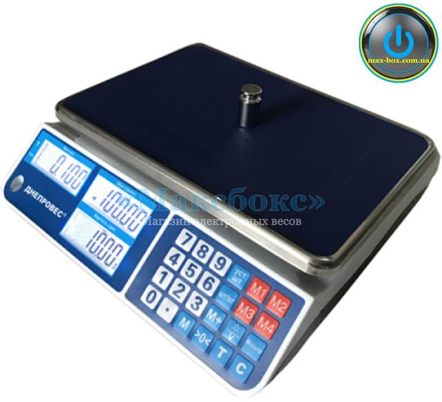 Весы торговые до 6 кг F902H-6CL1 — Днепровес (ВТД-СЛ1)