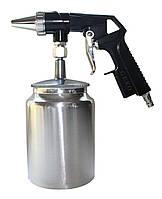 Пистолет пескоструйный пневматический AS-10. 4- 7бар. Расход воздуха от 160 л/мин