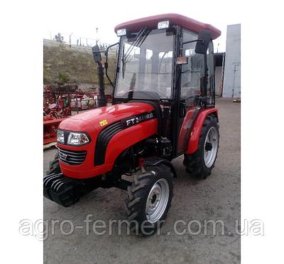 Трактор Foton Lovol FT244HRXС (3 цил., ГУР, КПП (4x2)+(4x2), колеса 6.50х16/11,2х24,блокування диференціала)