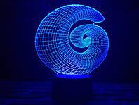 """Детский ночник - светильник """"Спираль"""" 3DTOYSLAMP"""