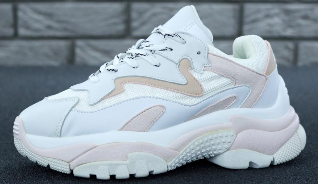 Женские кроссовки Ash Addict Sneakers White Gray