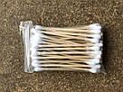 Ватные (ушные палочки) деревянные, 4 пачки/набор, фото 2