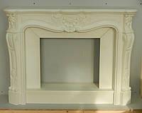 Каминный портал, декоративный камин, фальш-камин, камин гипсовый.