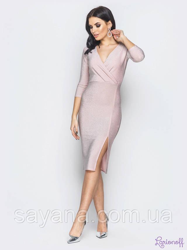 женское платье с разрезом опт