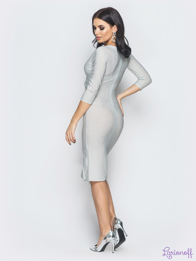 нарядное женское платье люрекс