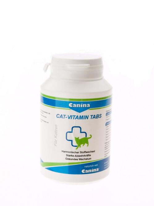 Canina CAT-VITAMIN TABS (витаминный комплекс для котов) 100 таб., 50 г.