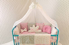 """Детский набор постельного в кроватку """"Облако"""""""