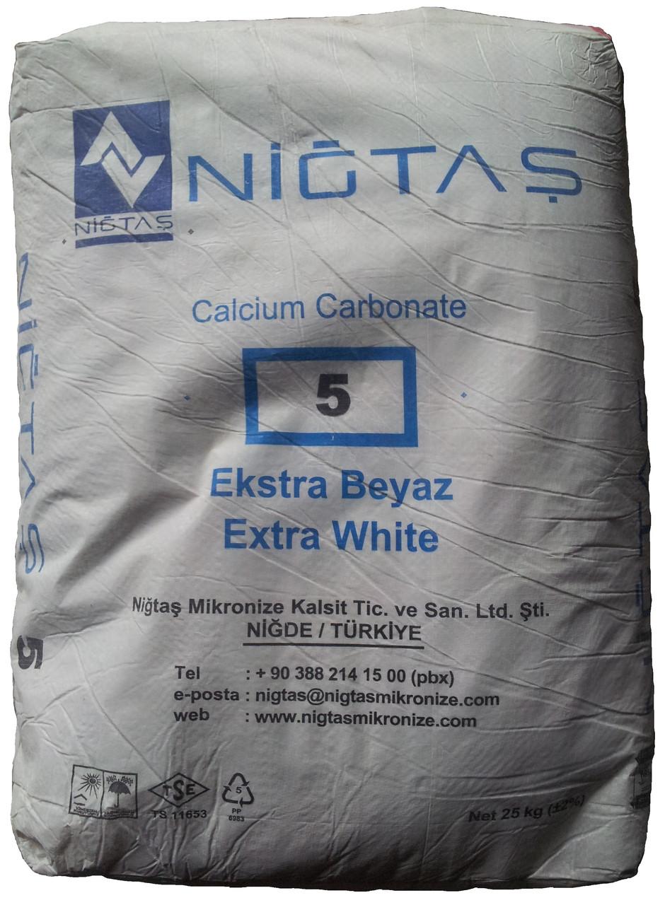 Микрокальцит Nigtas (фракция 5 мкм) 25 кг